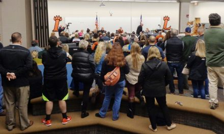 Packed house for Loveland Board of Education public input session Tuesday evening