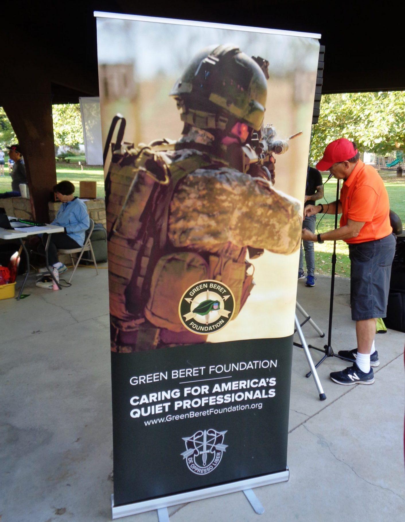 Green Beret Banner