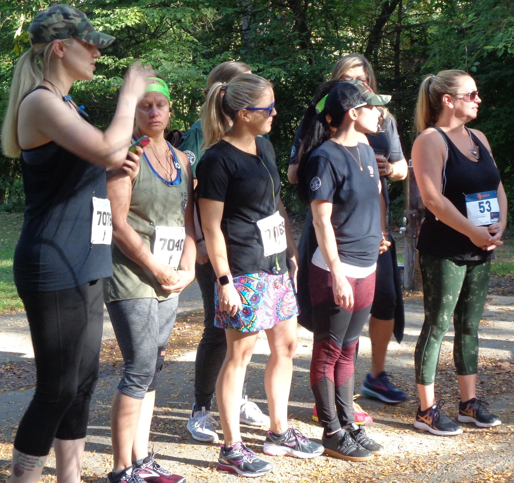 Group of female 5K runners
