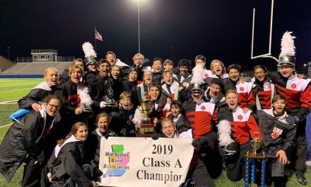 Indian Hill High School Marching Band wins Mid-States Band Association Championship