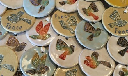 Whistle Stop Clay Works at Christmas in Loveland