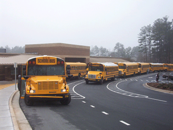 Where's the Clermont Northeastern bus?
