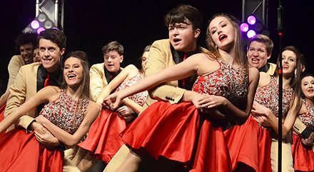 It is Preview Night for Loveland Show Choirs