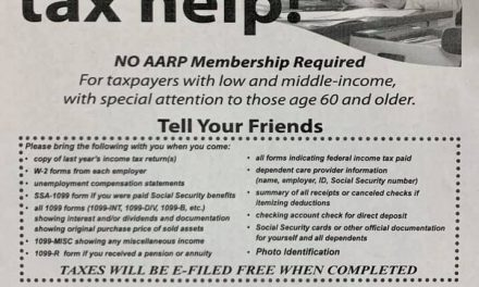 AARP Tax-aide offers free tax help- no aarp membership required