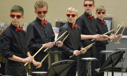 Milford bands performed at OMEA State Conference