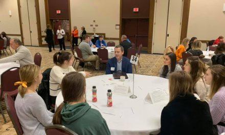 Loveland High School seniors engage with mentors