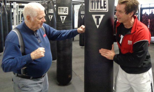 Title Boxing Club class lifts Parkinson's patients off the mat