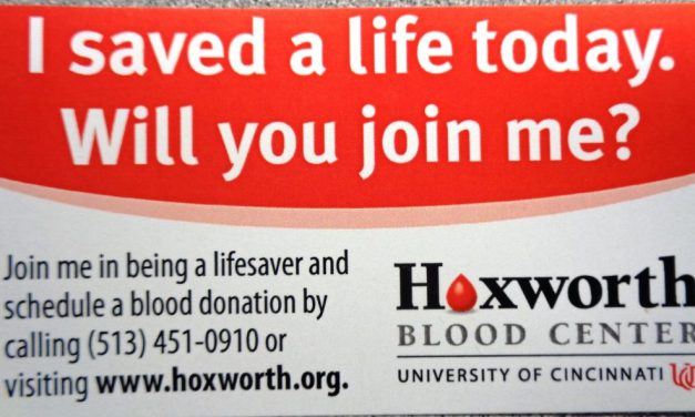 Hoxworth Blood Donor Centers are open