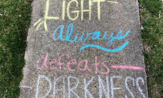 Chalk artists brighten spirits in one Loveland neighborhood