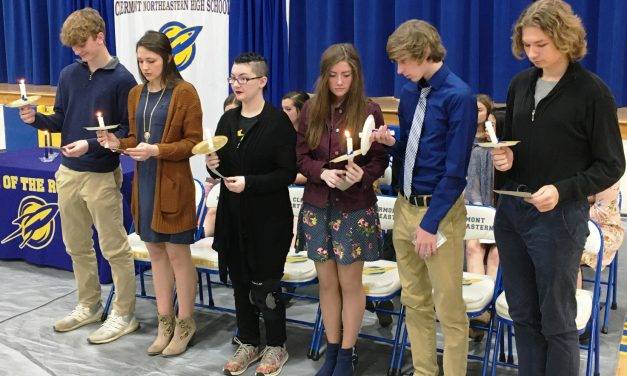 Clermont Northeastern inducts 12 students into National Honor Society