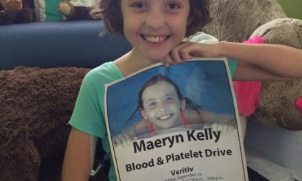 Transfusions played a critical role in a young girl's fight against cancer.
