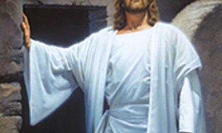 he is Risen!       Alleluia!