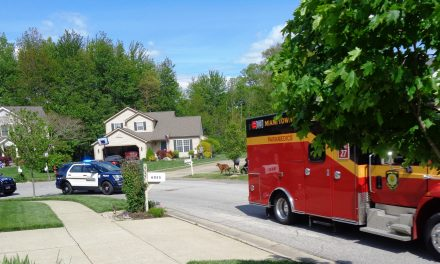 Miami Township Fire & Police lead birthday parade for 8 year old boy