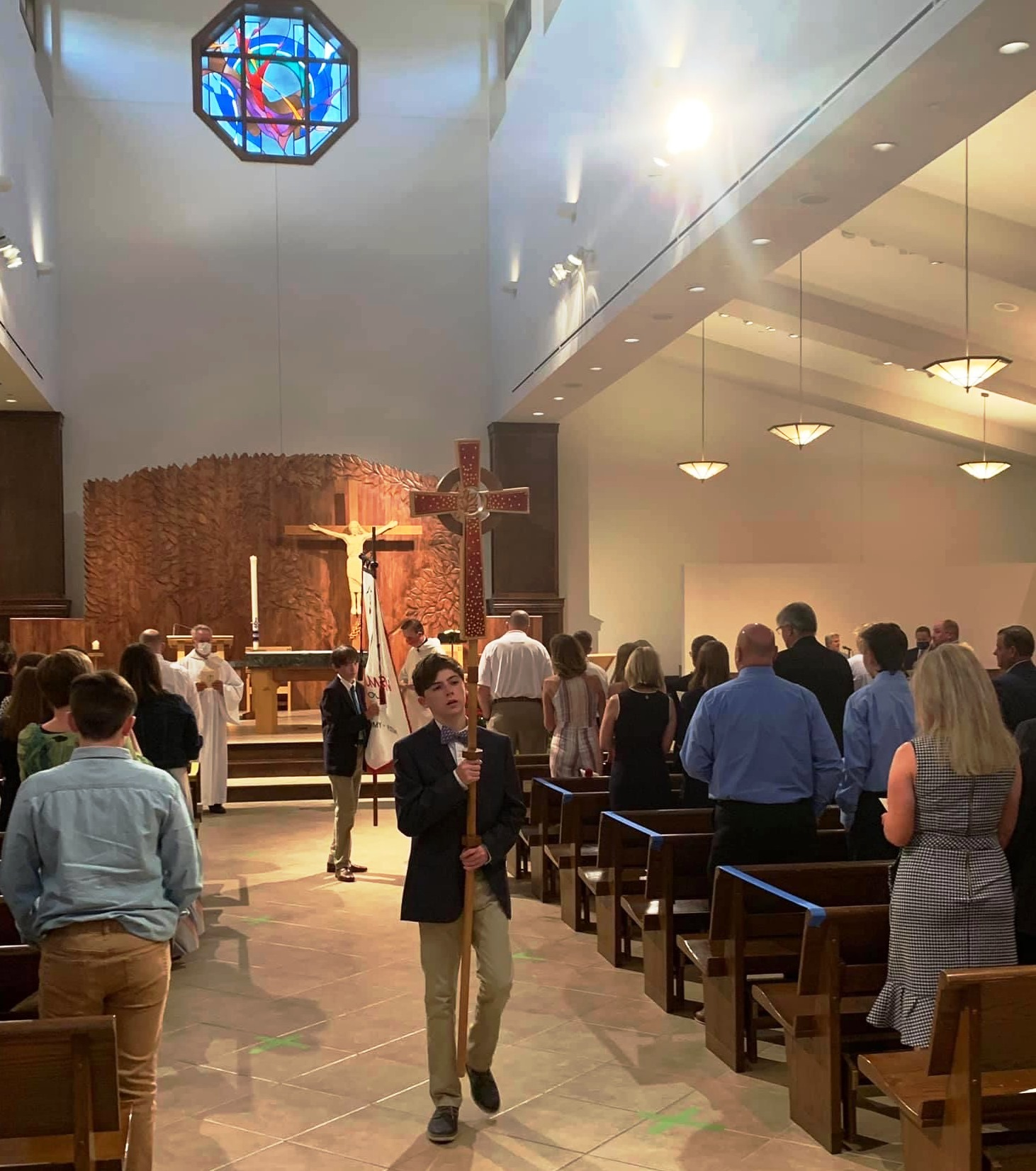 No Commencement Mass celebrates grads at St. Columban School in ...