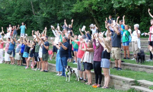 People joined together in Loveland community prayer for unity