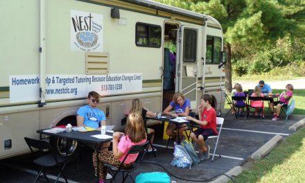 Loveland NEST summer program learn, lunch, and explore for the kids