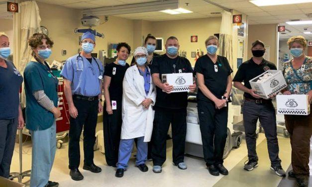 Loveland community & Jimmy John's fed emergency care staff