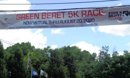 Loveland's 3rd Annual Green Beret 5K Race has gone virtual