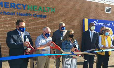 The CNE school district and Mercy Health dedicated the new community/student health center September 18
