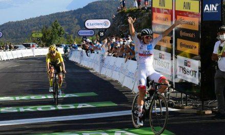 LE TOUR DE FRANCE: Stage 15 victory to Tadej Pogacar