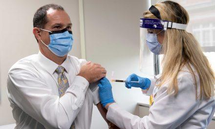 U.C. Health/U.C. Researcher Becomes Participant in COVID-19 Vaccine Trial