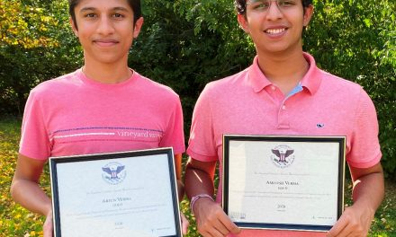 Two Indian Hill High School students awarded President's Gold Volunteer Service Award