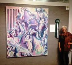 Loveland Artist receives new award at Woman's Art Club of Cincinnati