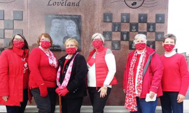 2020 Loveland Valentine's Lady honored