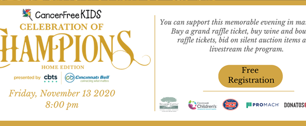 CancerFree Kids presents 'Celebration of Champions – Home Edition'