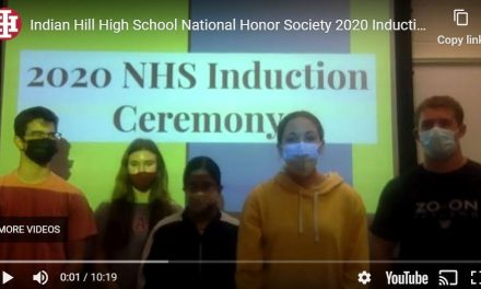 Indian Hill High School welcomes 68 new members to National Honor Society