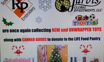 RP DIAMOND & JARVIS GLOBAL INVESTMENTS COLLECTING FOR LIFE FOOD PANTRY