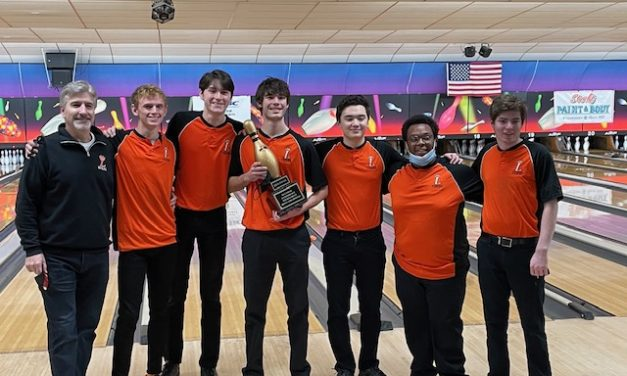 Boys Bowling wins tournament championship