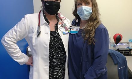 Racic ready to get in game as health center's new physician's assistant