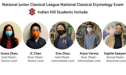 Gold, Silver, & Bronze in prestigious national exam FOR INDIAN HILL STUDENTS
