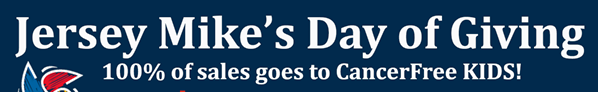 DAY OF GIVING TO SUPPORT CANCERFREE KIDS