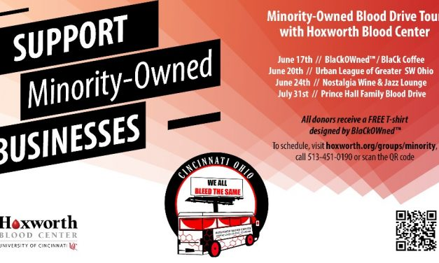 Hoxworth Blood Center Partners with Local Minority-Owned Businesses for Blood Drive Series