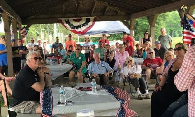 Candidate for Ohio Governor '22 well received at local event