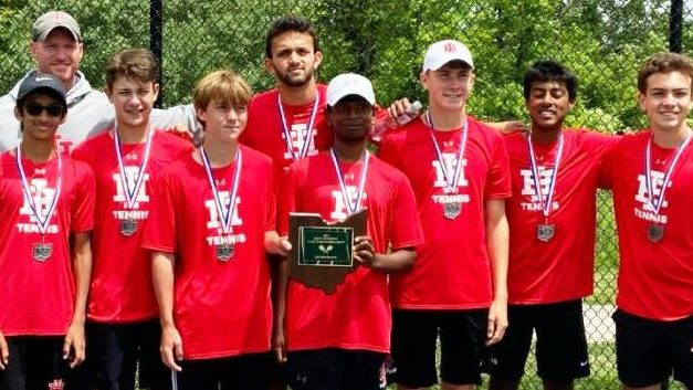 Indian Hill High School Tennis earns second at state