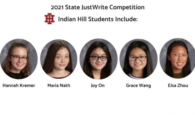 Students earn top spots at JustWrite state competition