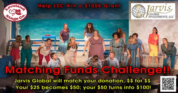 LOVELAND STAGE COMPANY FUNDRAISING CAMPAIGN HAS A GOOD 1ST WEEK