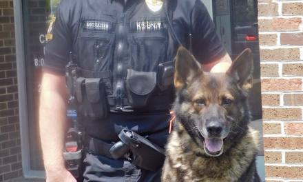 LPD OFFICER AND K9 PARTNER TO BE HONORED