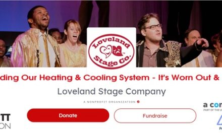 LOVELAND STAGE COMPANY BEGINS CAMPAIGN TO WIN $100k gRANT