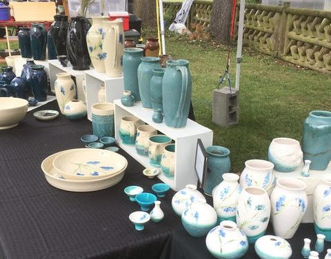 4th Annual Pottery Affaire feature local artists and authorS