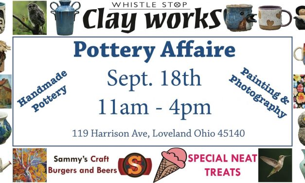 Artists WILL Shine at 4TH ANNUAL Pottery Affaire