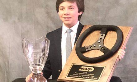 Evagoras Papasavvas is Junior Driver of the Year in Kart Racing