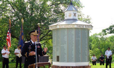 MEMORIAL DAY CEREMONY DEDICATES RESTORED LOVELAND WWII HONOR ROLL