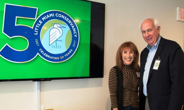 WOMAN'S CLUB WELCOMES GUEST FROM LITTLE MIAMI CONSERVANCY