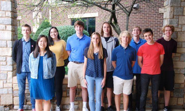 Ten CHCA Seniors  Recognized by the National Merit Scholarship Corporation